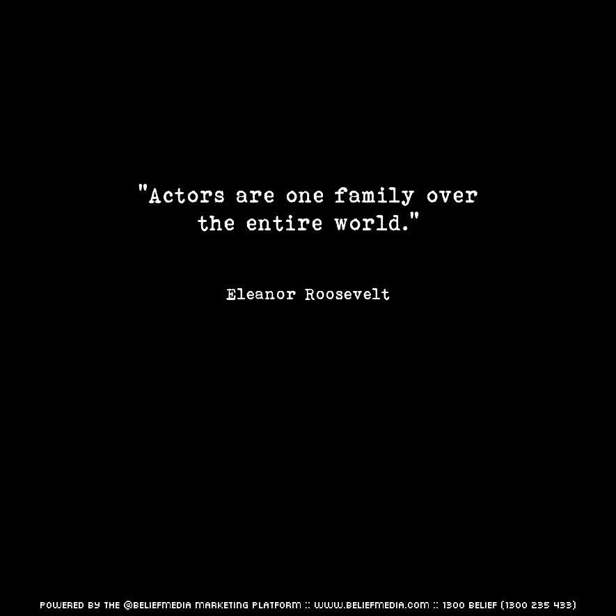 Quote from Eleanor Roosevelt about Family