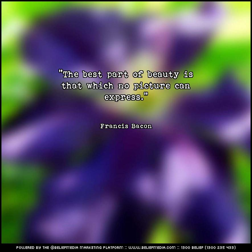 Quote from Francis Bacon about Best