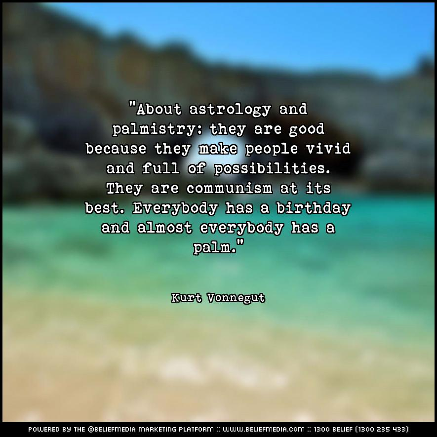 Quote from Kurt Vonnegut about Best