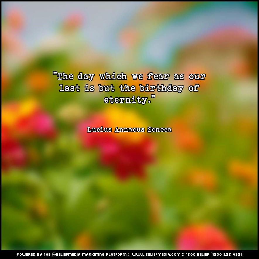 Quote from Lucius Annaeus Seneca about Death